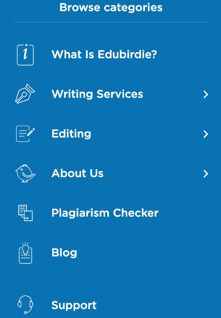 Edubirdie - Design and Usability